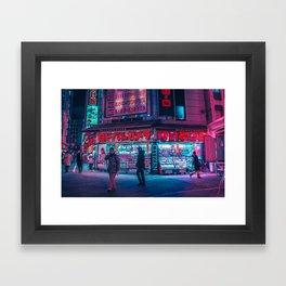 3 A M   P H O N E   C A L L Framed Art Print