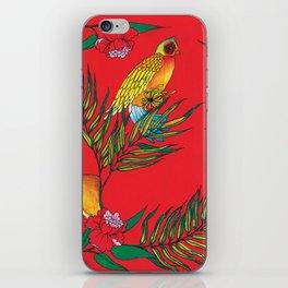 RED TIGER PATTERN iPhone Skin