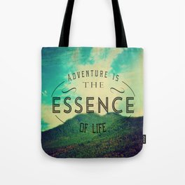 Essence Of Life  Tote Bag