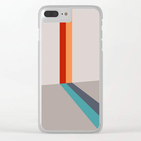 Poligonal 178 Clear iPhone Case