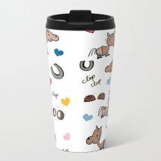Clip Clop Metal Travel Mug