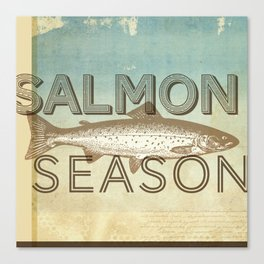 Salmon Season Canvas Print