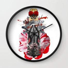 Open Your Heart by Lenka Laskoradova Wall Clock