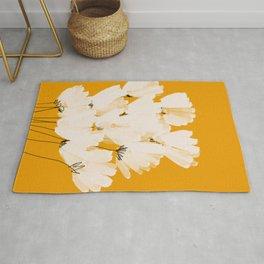 Flowers In Tangerine Rug