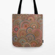 Mandala Mania-Vintage colors Tote Bag