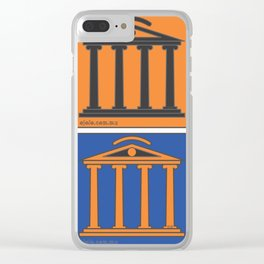 gre[y]ece Clear iPhone Case