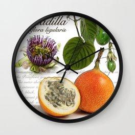 Granadilla Wall Clock