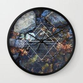 River Oasis Wall Clock
