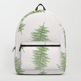Vintage Leaf Toss in Eggshell Backpack