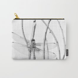 """Dragonfly 11"" by Murray Bolesta Carry-All Pouch"