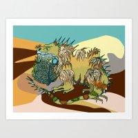 dune Art Prints featuring Dune by Maria Paula Quiva