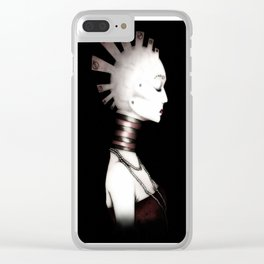 The Lady B-_Ug* Clear iPhone Case