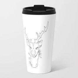 hipster dear Travel Mug