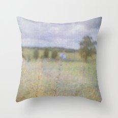 No-man's-land Throw Pillow