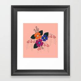 Flower..10 Framed Art Print