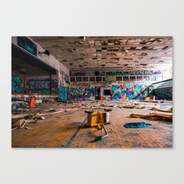 This is my playground Canvas Print