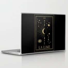 The Moon or La Lune Gold Edition Laptop & iPad Skin