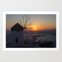 Mykonos Art Print