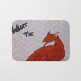 What the Fox Bath Mat