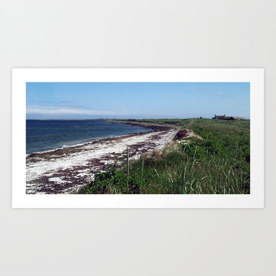Scuthvie Bay and Start Point Art Print