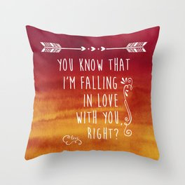 Fangirl Throw Pillow
