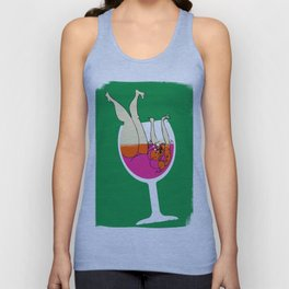 Drink Responsibly - Don't Spill your Drink Unisex Tank Top