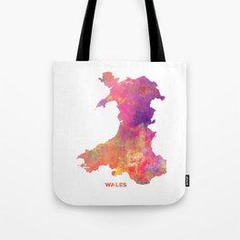 Wales map #wales #map Tote Bag