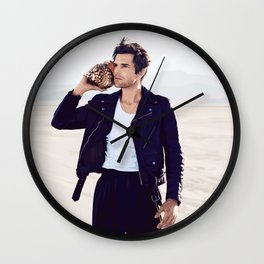 Run For Cover Wall Clock