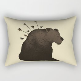 Hurt Rectangular Pillow