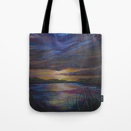 out of darkness comes light Tote Bag