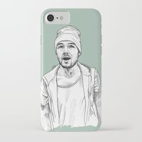 liam payne iPhone & iPod Cases featuring Liam Payne  by Cécile Pellerin
