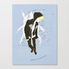leatherette Canvas Print