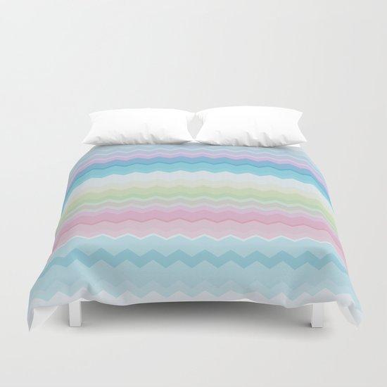 Rainbow pattern Duvet Cover