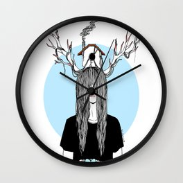 Always Home Wall Clock