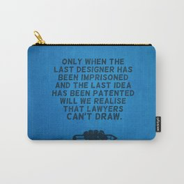 Lawyers can't draw ! Carry-All Pouch