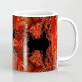 Red FIS Abstract 2 Coffee Mug