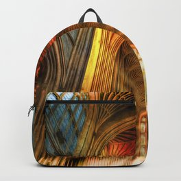 Bath Abbey Sun Rays Art Backpack
