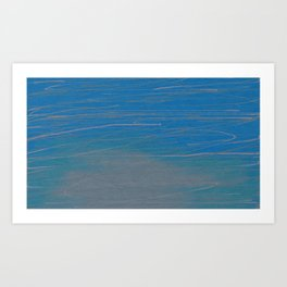 Water and Oil Art Print