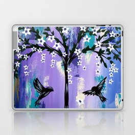 Purple Tree of Life Laptop & iPad Skin