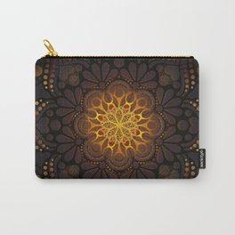 """Warm light Moroccan lantern Mandala"" Carry-All Pouch"