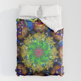 Over Commotion Comforters