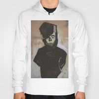 pastel goth Hoodies featuring Goth by Rick Onorato