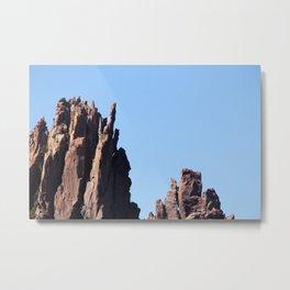 Volcanic Rocks Metal Print