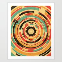 Art Prints featuring Space Odyssey by Picomodi