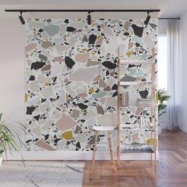 Terrazzo Pattern II. Wall Mural