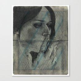 Obscure, Destroy Sketchbook Spread 2 Canvas Print