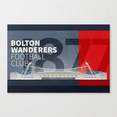 The Macron Stadium Canvas Print