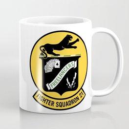 Fighter Squadron Twenty One VF-21 Freelancers Coffee Mug