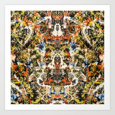 Reflecting Pollock 2 Art Print