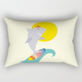 sea shark Rectangular Pillow